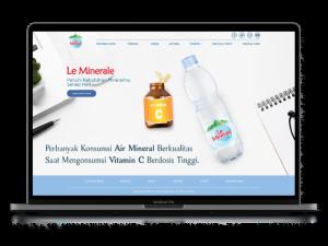 Jasa Pembuatan Website Full Custom leminerale.com (1) - 676px x 507px